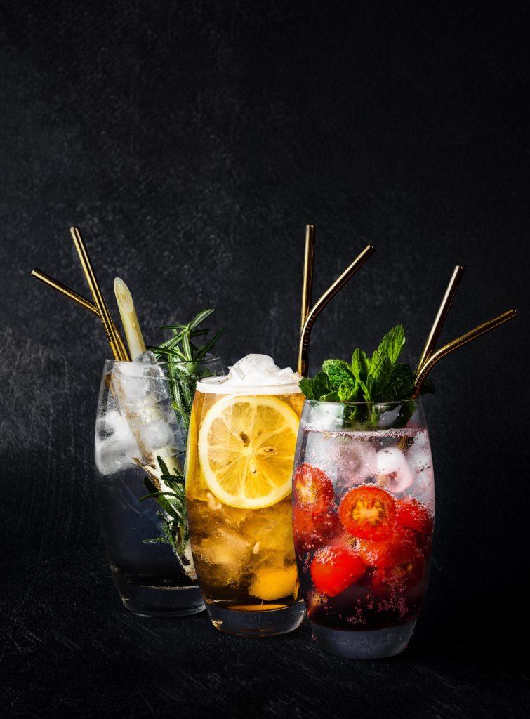 Décoration des verres à cocktail