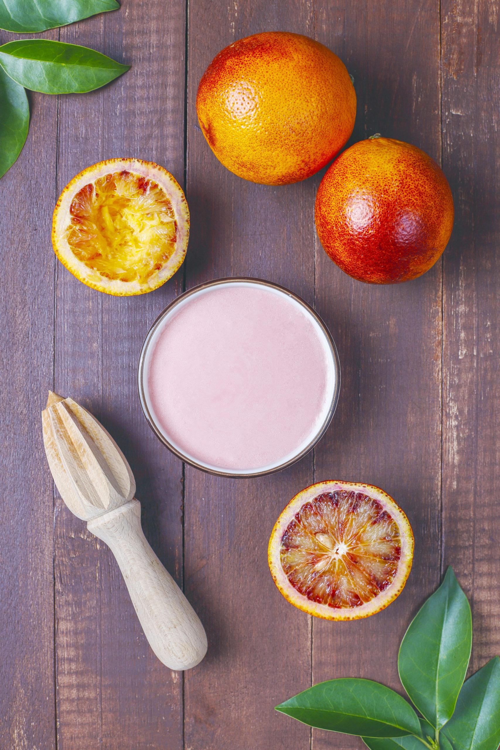 Mousse aux fruits tropicaux