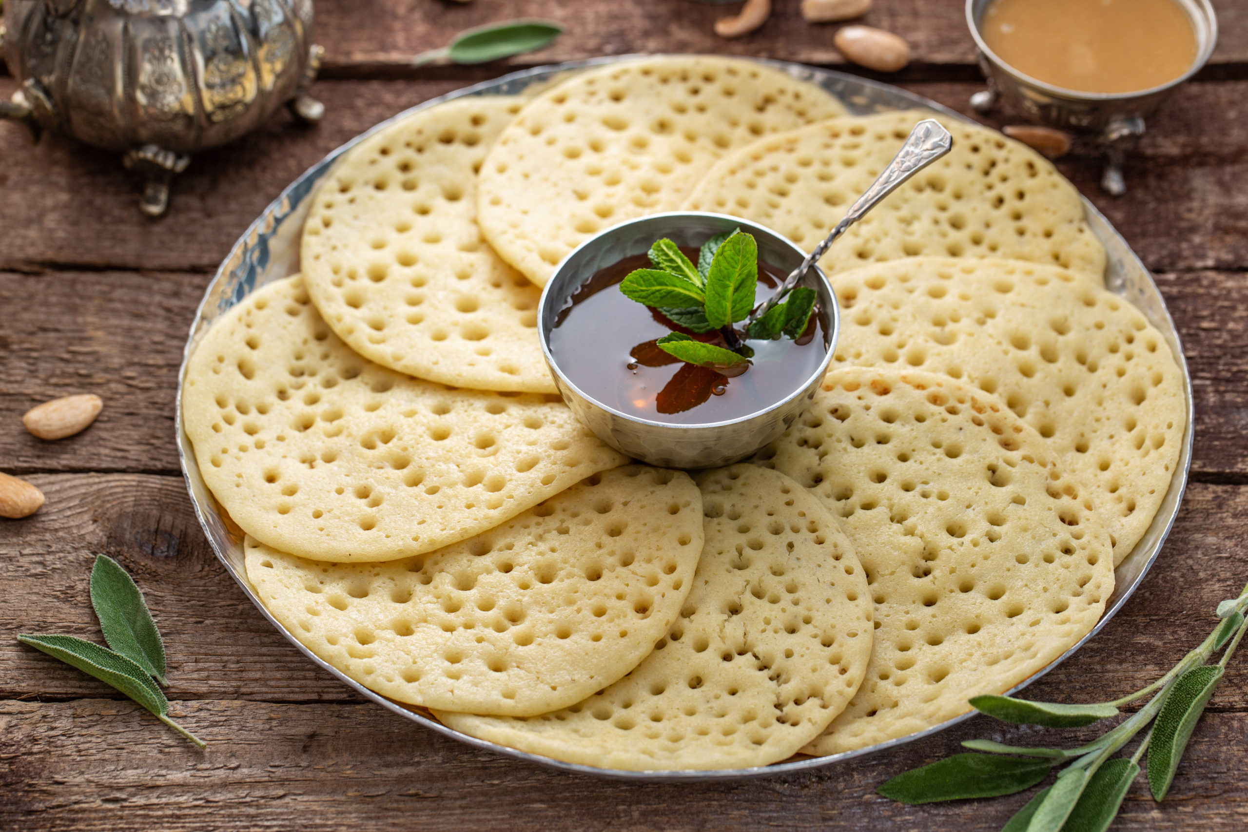 Baghrirs aromatisées au Pacita