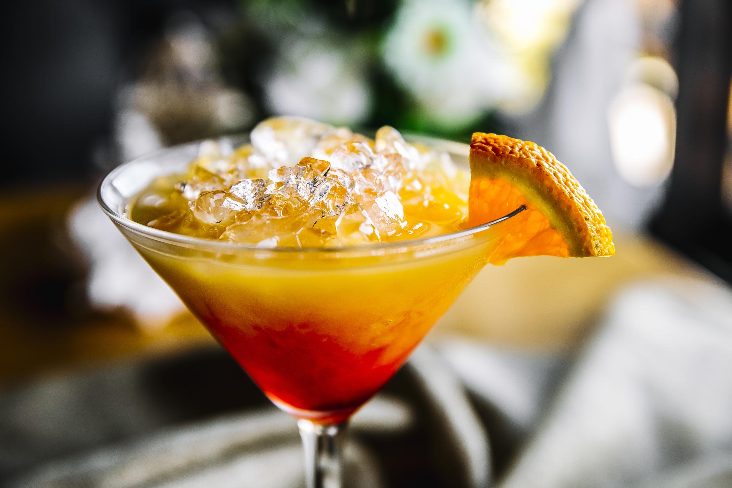 Cocktail Mexican sunset sans alcool Pacita